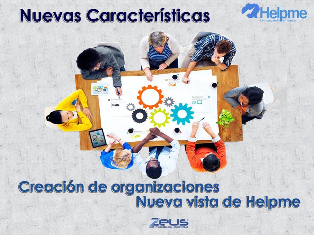 Creación de Organizaciónes
