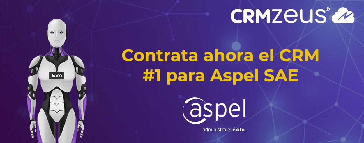 CRMZeus el mejor crm integrado a aspel sae