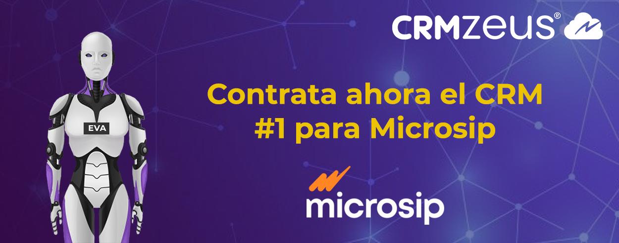CRMZeus conectado a Microsip